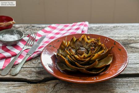 Receta de alcachofas al horno, la manera más fácil, rápida y saludable de cocinar esta hortaliza
