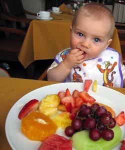 que frutas puedo dar ami bebe de 6 meses