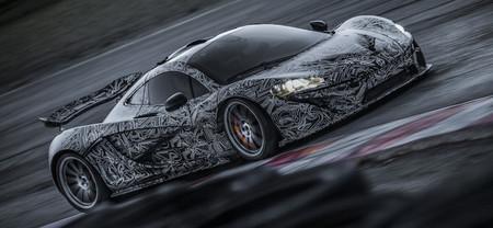 Así se está dando vida al McLaren P1