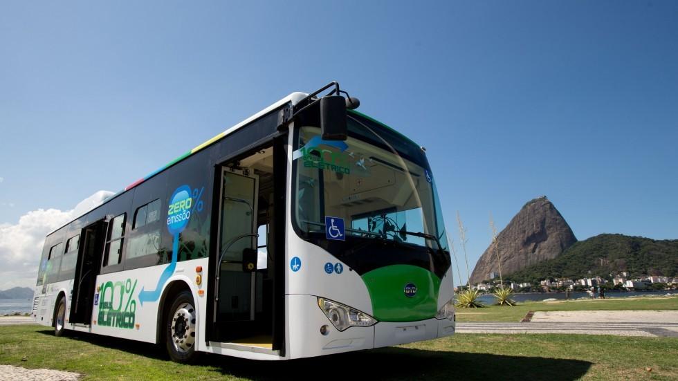 Electric Bus Xinhua
