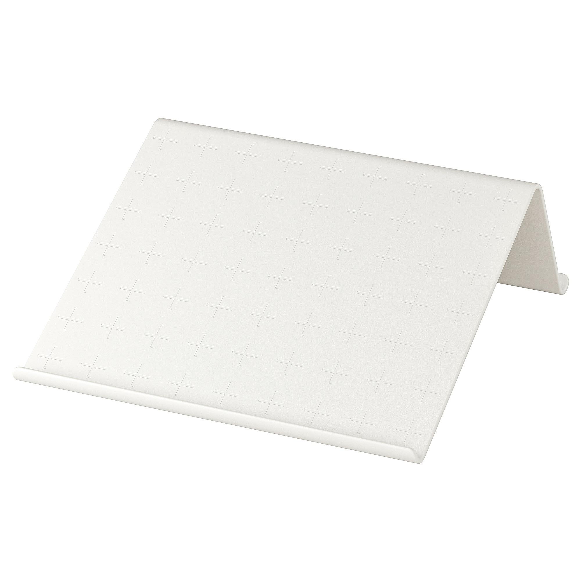ISBERGET Soporte para tablet, blanco 25x25 cm