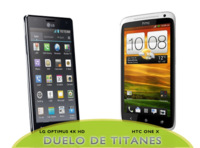 LG Optimus 4X HD vs HTC One X, un mano a mano de cuatro núcleos