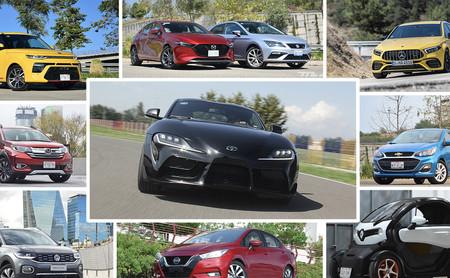 ¡Adiós, 2019! Estos fueron los 96 autos que probamos durante el año