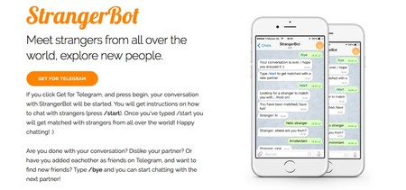 Strangerbot Chat With Strangers Through Telegram