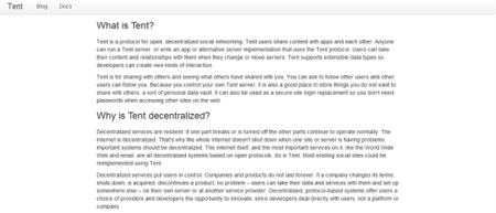 """""""No creamos Tent para imitar redes sociales existentes"""": Entrevista a Daniel Siders, desarrollador de Tent"""