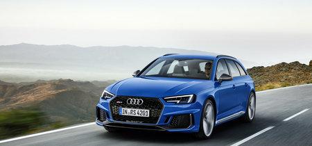 Audi RS 4 Avant 2018: ahora biturbo, con 450 CV y desde 96.890 euros