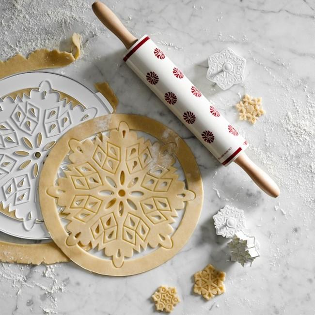 Williams Sonoma Snowflake Pie Dough Cutter O