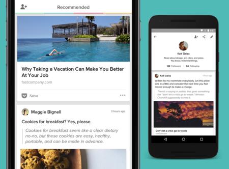 Pocket para Android se hace social, ahora puedes seguir a personas para ver sus recomendaciones