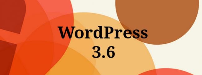 Wordpress 3.6 novedades desarrolladores