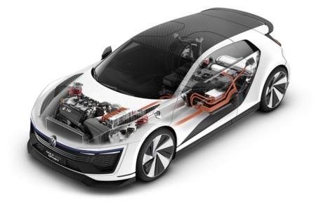Volkswagen Golf Gte Sport Concept Hibrido Enchufable
