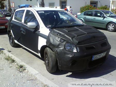 Hyundai i20, pillado de nuevo, esta vez en Granada