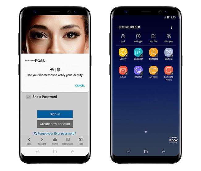 Samsung Pass Carpeta Segura