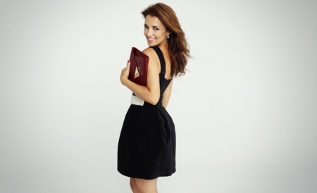 Paula Echevarría para SuiteBlanco: tres looks para lucir en Navidad