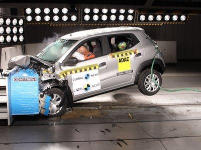 Previo a su llegada a México, Renault Kwid obtiene tres estrellas en las pruebas de Latin NCAP