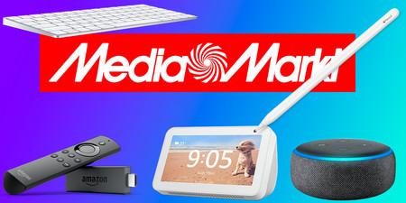 Las mejores ofertas del Día Sin IVA de MediaMarkt: dispositivos y pantallas Echo, Magic Keyboard, Apple Pencil y más