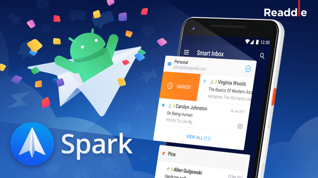 Spark, the acclaimed email client for iOS, arrives on Android in an official manner