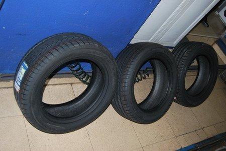 Solo se subvencionará el cambio de los cuatro neumáticos