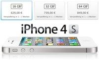 Comparativa de precios de toda la gama iPhone en Europa (iPhone 3GS vs. iPhone 4 vs. iPhone 4S)