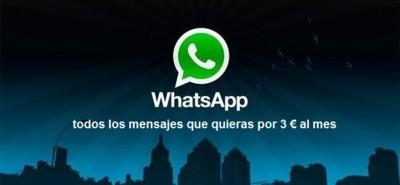 ¿Tarifas para el uso exclusivo de WhatsApp? Puede ser una opción cercana