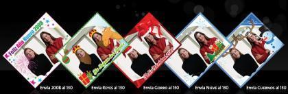 Movistar personaliza nuestras fotos con motivos navideños