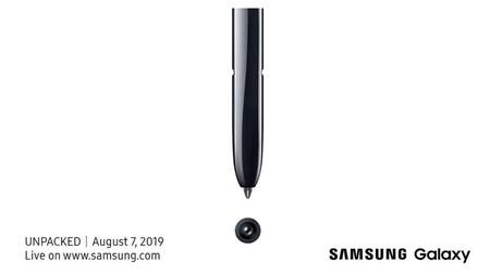 Samsung confirmó la fecha de su próximo Unpacked: el nuevo Galaxy Note 10 lo conoceremos el 7 de agosto