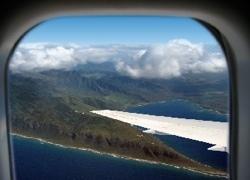 Holding Pattern Coach Class: Utiliza las vistas desde un avión como salvapantallas