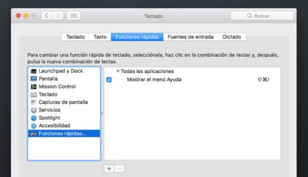 Funciones Rapidas Teclados Mac