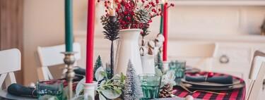 Tres mesas decoradas para Navidad que puedes crear en tu casa de forma fácil y económica (y quedan impresionantes)
