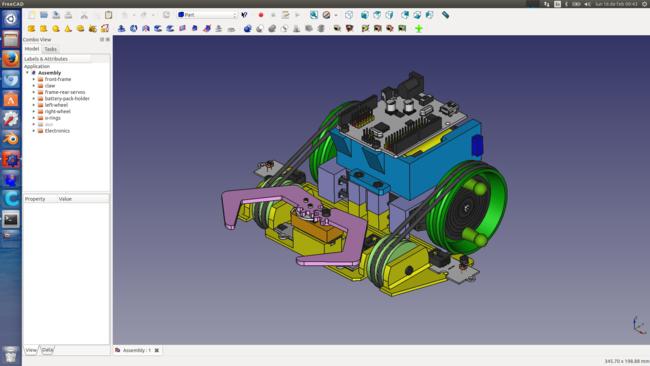 Printbot Beetle Freecad Screenshot 1