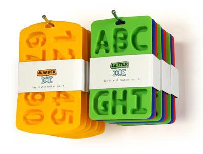 Moldes de números y letras