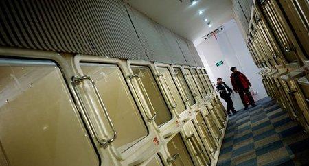 Los hoteles cápsula llegan a China