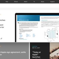 """Cambios """"periodísticos"""": La web de prensa de Apple pasa a ser un portal de noticias"""
