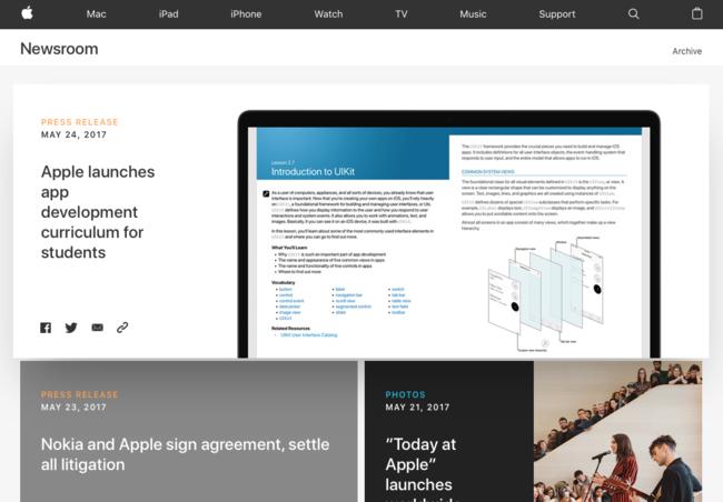 Apple Newsroom