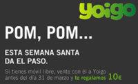 Yoigo ofrece 10 euros en llamadas a nuevos clientes