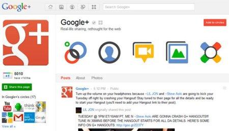 Google no permite realizar concursos ni ofertar cupones en las páginas de Google+