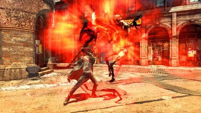 Casi media hora en vídeo del nuevo 'DmC: Devil May Cry' con un duelo contra un jefe final muy asqueroso [Gamescom 2012]