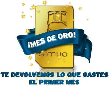 Mes de oro en Simyo regalará el consumo del primer mes