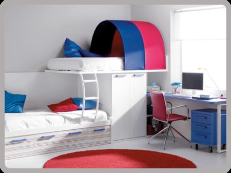 Repaso a los dormitorios juveniles de Moblerone