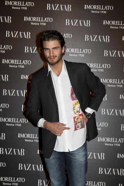 Maxi Iglesias fiesta Harper's Bazaar