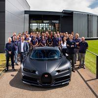 Bugatti está de celebración, fabrica el Chiron número 200