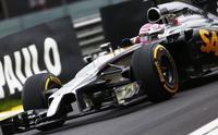 Jenson Button, cuarto con una actuación enfática