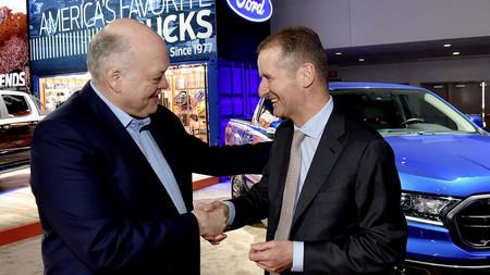 ¡Es oficial! Volkswagen y Ford fabricarán juntos vehículos comerciales ligeros que veremos a partir de 2022