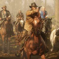Hay un cruce de caminos en Red Dead Redemption 2 que hace arder a los caballos