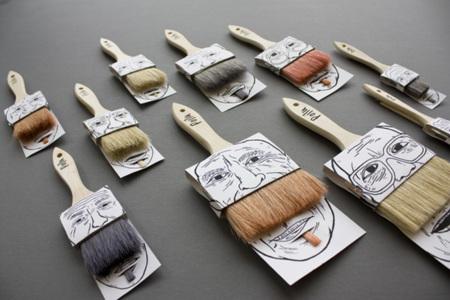 Las brochas y pinceles más peludos