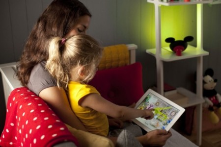 Philips Mickey luz lectura