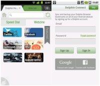 Dolphin Browser 7.0 para Android con Dolphin Connect, sincronización de datos entre dispositivos