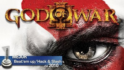 Mejor Beat 'em up / Hack and Slash de 2010: 'God of War III'
