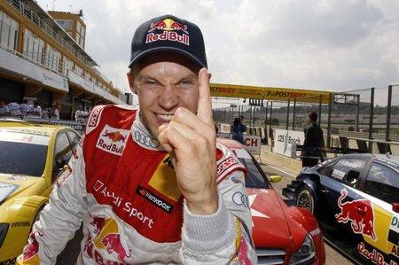 Mattias Ekström, pole en el Circuit de la Comunitat Valenciana Ricardo Tormo