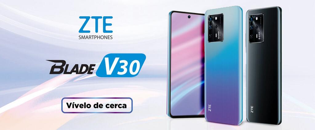 ZTE Blade V30 y ZTE℗ Blade V30 Vita: nuevos prototipos 4G con grandes pantallas y batería de 5.000 mAh