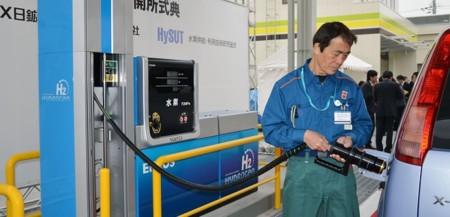 Descubre cómo serán las nuevas gasolineras para los coches de hidrógeno
